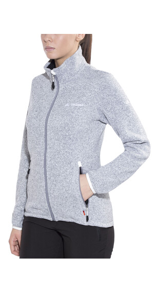 VAUDE Rienza Jacket Women grey-melange